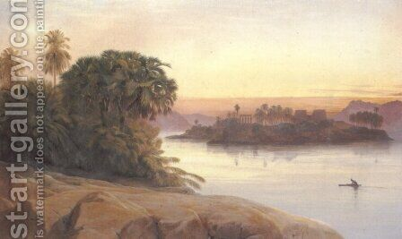 """And I will See, Before I Die the Palms and Temples of the South"" by Edward Lear - Reproduction Oil Painting"