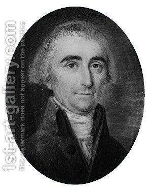 Jonathan Pinckney of Annapolis, Maryland by James Peale - Reproduction Oil Painting