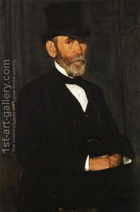 Lambert DeCamp by Joseph Rodefer DeCamp - Reproduction Oil Painting