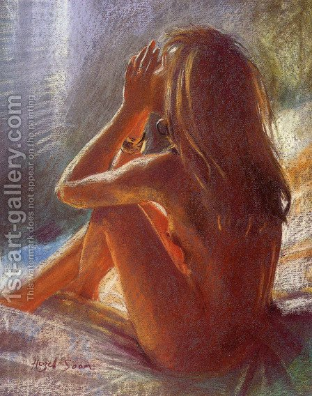 Private Moments III by Hazel Soan - Reproduction Oil Painting
