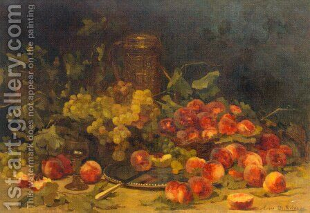 Nature Morte (Still Life) by Marie De Bievre - Reproduction Oil Painting