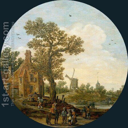 Summer by Jan van Goyen - Reproduction Oil Painting
