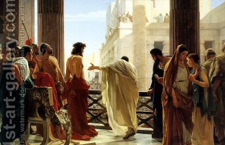 Ecce Homo by Antonio Ciseri - Reproduction Oil Painting