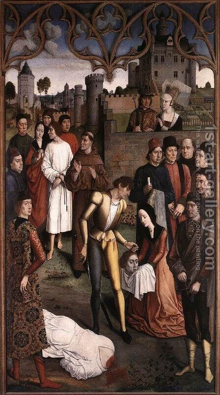 The Execution of the Innocent Count by Dieric the Elder Bouts - Reproduction Oil Painting