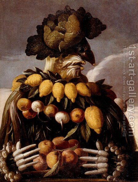 The Seasons Pic 1 by Giuseppe Arcimboldo - Reproduction Oil Painting