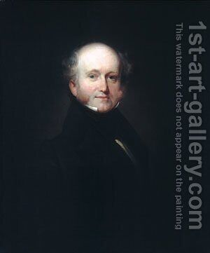 Martin Van Buren by Henry Inman - Reproduction Oil Painting