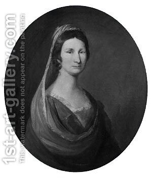 Mrs. Peter De Lancey by Matthew Pratt - Reproduction Oil Painting