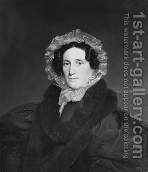 Mrs. Luman Reed by Charles Cromwell Ingham - Reproduction Oil Painting