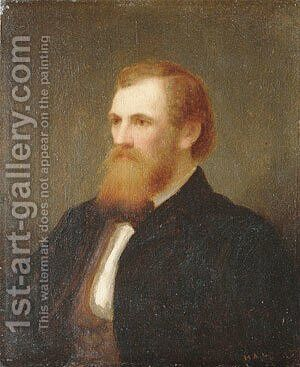 John Quincy Adams Ward by Henry Augustus Loop - Reproduction Oil Painting