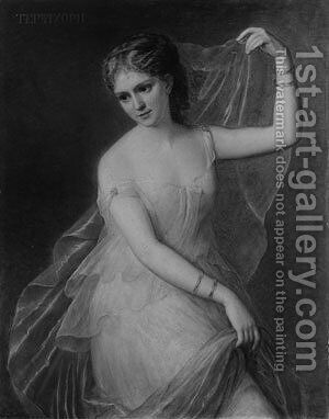 Terpsichore by Giuseppe Fagnani - Reproduction Oil Painting