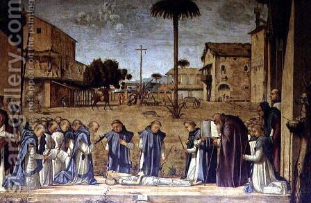 Burial of St. Jerome, 1507-09 by Vittore Carpaccio - Reproduction Oil Painting