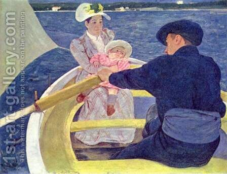 The Boating Party, 1893-94 by Mary Cassatt - Reproduction Oil Painting