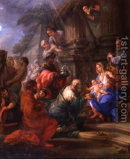 The Adoration of the Magi by Antonio Cavalucci - Reproduction Oil Painting