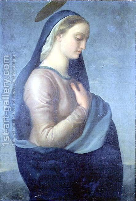 Madonna by Benedetto Cavalucci - Reproduction Oil Painting