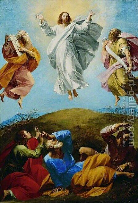 The Transfiguration by Giuseppe (d'Arpino) Cesari (Cavaliere) - Reproduction Oil Painting