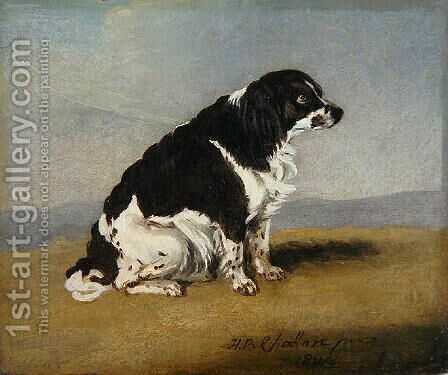 The Duchess of York's Spaniel, 1804 by Henry Bernard Chalon - Reproduction Oil Painting
