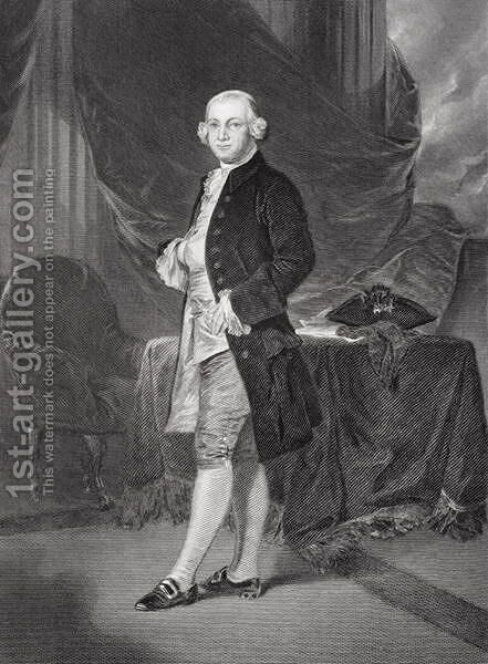Portrait of James Otis (1725-83) by Alonzo Chappel - Reproduction Oil Painting