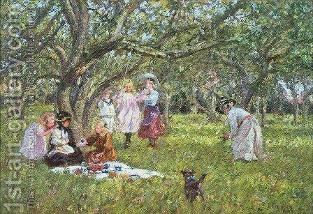 The Picnic by James Charles - Reproduction Oil Painting