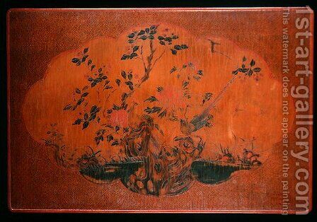 Table Top, Kangxi period (1662-1722) by Anonymous Artist - Reproduction Oil Painting