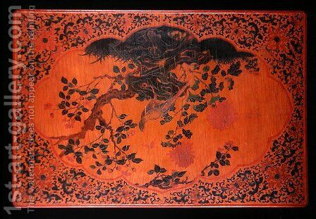 Table Top, Kangxi period (1662-1722) (2) by Anonymous Artist - Reproduction Oil Painting