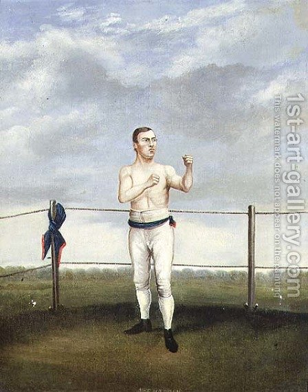 Mike Madden by A. Clark - Reproduction Oil Painting