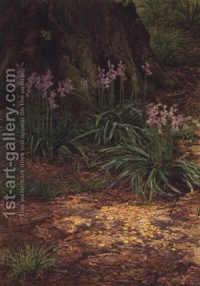 Bluebells by Edward Clifford - Reproduction Oil Painting