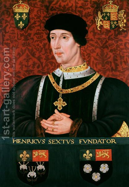 Portrait of Henry VI of England (1421-71) by (after) Clouet, Francois - Reproduction Oil Painting