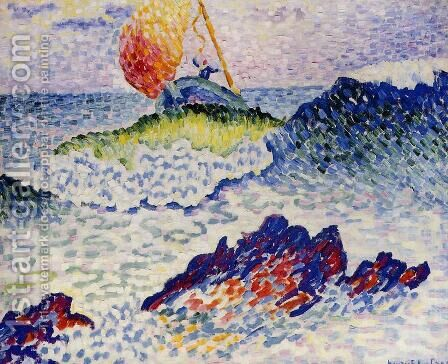 The Shipwreck, 1906-07 by Henri Edmond Cross - Reproduction Oil Painting