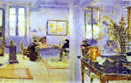 The Room 1893 by Edouard  (Jean-Edouard) Vuillard - Reproduction Oil Painting