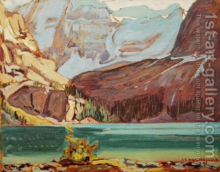 Lake O'Hara Rocky Mountains 1926 by James Edward Hervey MacDonald - Reproduction Oil Painting