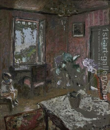 The Pink Room, c.1903 by Edouard  (Jean-Edouard) Vuillard - Reproduction Oil Painting