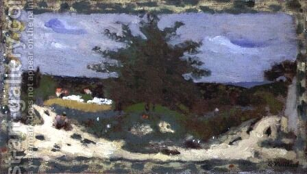 The Village Pond, 1898 by Edouard  (Jean-Edouard) Vuillard - Reproduction Oil Painting