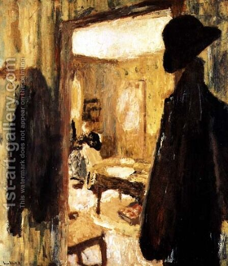 Interior, 1900-04 by Edouard  (Jean-Edouard) Vuillard - Reproduction Oil Painting