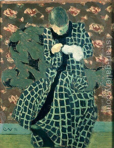 The Repairer, 1891 by Edouard  (Jean-Edouard) Vuillard - Reproduction Oil Painting