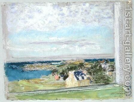 From my Window by Edouard  (Jean-Edouard) Vuillard - Reproduction Oil Painting