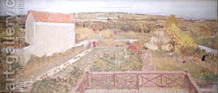 Landscape in the Midi by Edouard  (Jean-Edouard) Vuillard - Reproduction Oil Painting