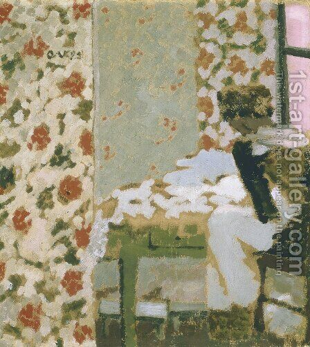 The Seamstress, 1893 by Edouard  (Jean-Edouard) Vuillard - Reproduction Oil Painting