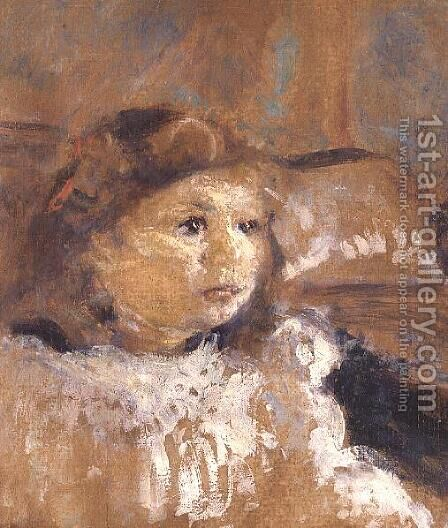 Portrait of Annette Nathanson, c.1907 by Edouard  (Jean-Edouard) Vuillard - Reproduction Oil Painting