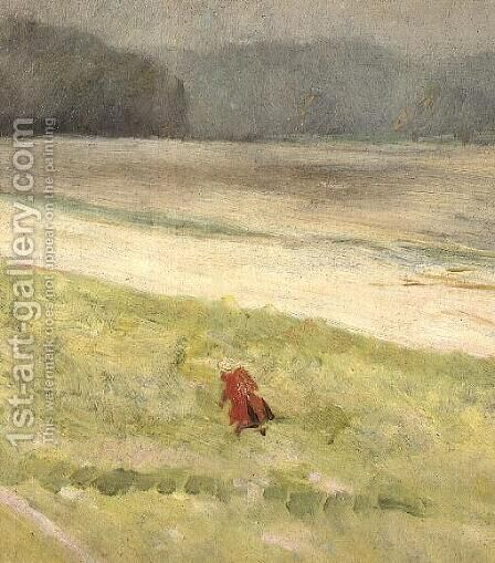 By the Sea by Edouard  (Jean-Edouard) Vuillard - Reproduction Oil Painting