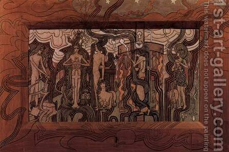 Song of the Times, 1893 by Jan Toorop - Reproduction Oil Painting