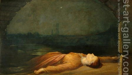 Found Drowned, 1848-50 by George Frederick Watts - Reproduction Oil Painting