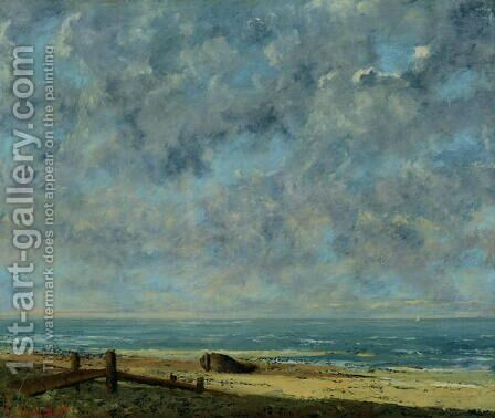 The Sea, c.1872 by Gustave Courbet - Reproduction Oil Painting
