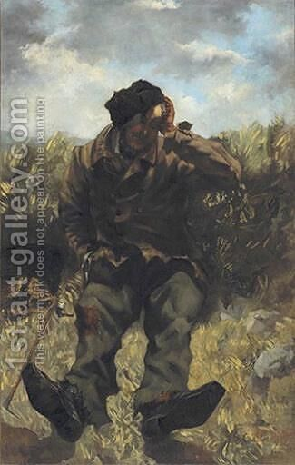 The Vagabond by Gustave Courbet - Reproduction Oil Painting