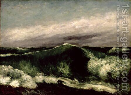 The Wave, 1869 by Gustave Courbet - Reproduction Oil Painting