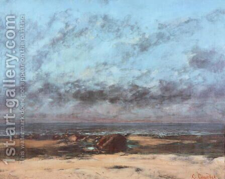 Eternity by Gustave Courbet - Reproduction Oil Painting