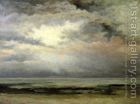 L'Immensite by Gustave Courbet - Reproduction Oil Painting