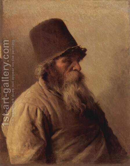 The Miller, 1873 by Ivan Nikolaevich Kramskoy - Reproduction Oil Painting