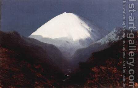 Elbrus, 1890-1895 by Arkhip Ivanovich Kuindzhi - Reproduction Oil Painting
