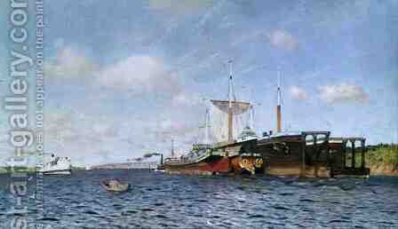 Fresh Wind on the Volga, 1895 by Isaak Ilyich Levitan - Reproduction Oil Painting
