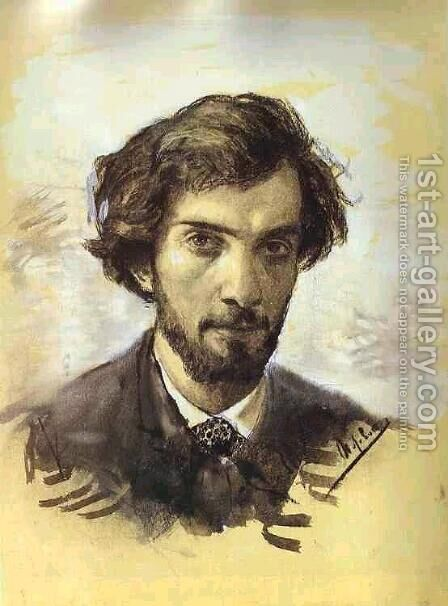 Selfportrait, 1880 by Isaak Ilyich Levitan - Reproduction Oil Painting